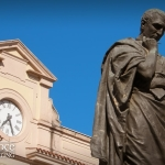 Statua di Ovidio a Piazza XX Settembre